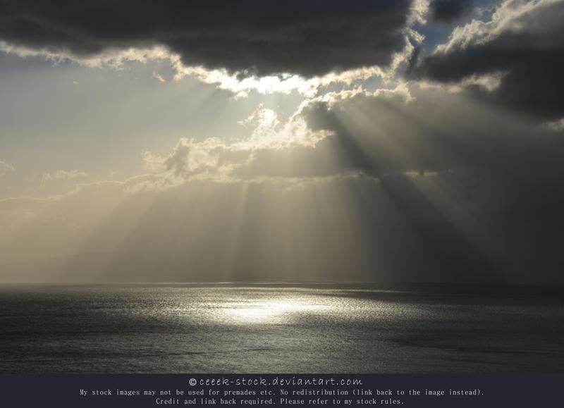 Sky and ocean 2 by ceeek-stock