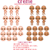 Pixel Base: Creme by saporion