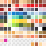 SAI Color Palette by GleeAtack