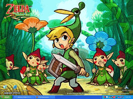 Legend of Zelda Minish Cap by Lionwind