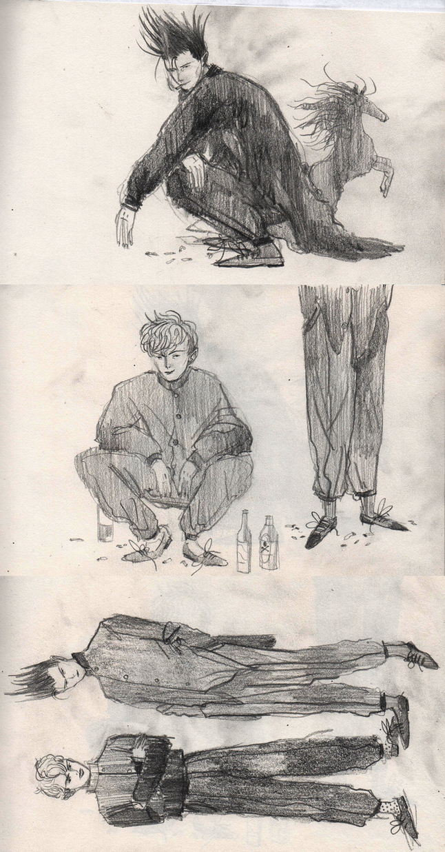 how to draw slav squat