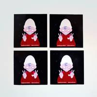 klub zin stickers by xuh