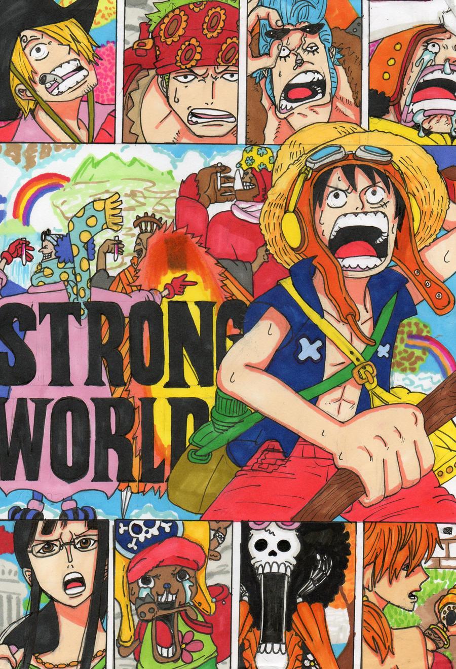 One Piece Strong World by AddzB on DeviantArt