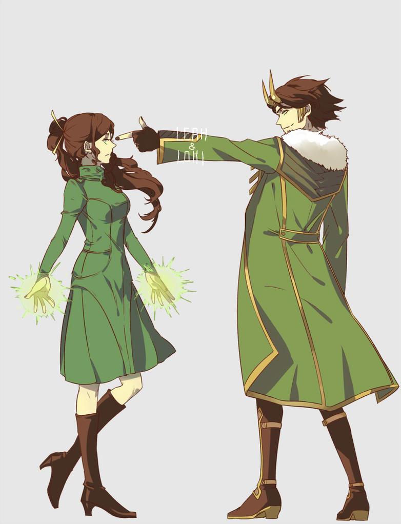 Loki and Leah by FermiumIce on DeviantArt