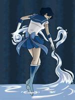 Shine Aqua Illusion by kristaia