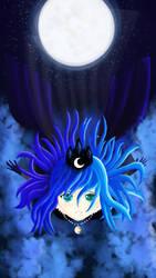 Falling (Human) Luna by Oliminor