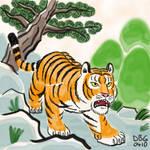 Year of the Tiger - April by BahalaNa