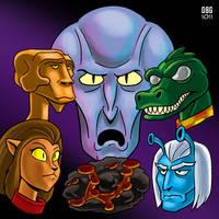 Star Trek: Aliens by BahalaNa