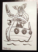 Vikingette by BahalaNa