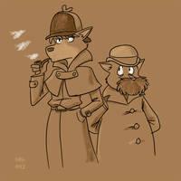 Sherlock Holmes: Sherlock Hound by BahalaNa