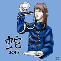Year of the Snake 2013 by BahalaNa