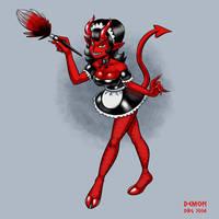 30 Day Monster Girl Challenge - 09 Demon by BahalaNa