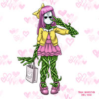 30 Day Monster Girl Challenge - 11 True Monster by BahalaNa