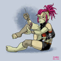 30 Day Monster Girl Challenge - 12 Zombie by BahalaNa