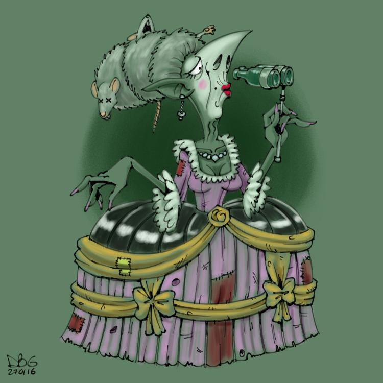 Goblin Week 04 - Pierzunda by BahalaNa