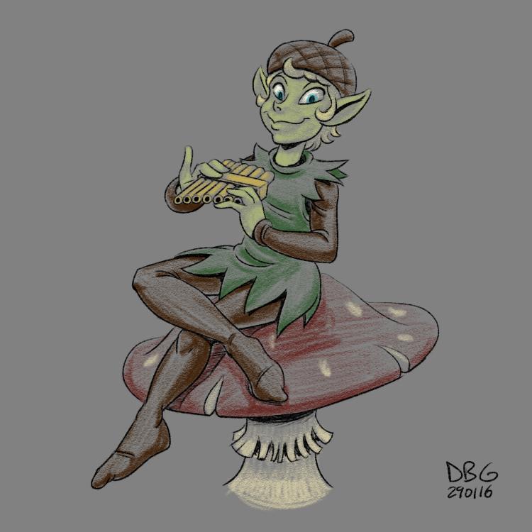 Goblin Week 06 - Duttifeloe by BahalaNa