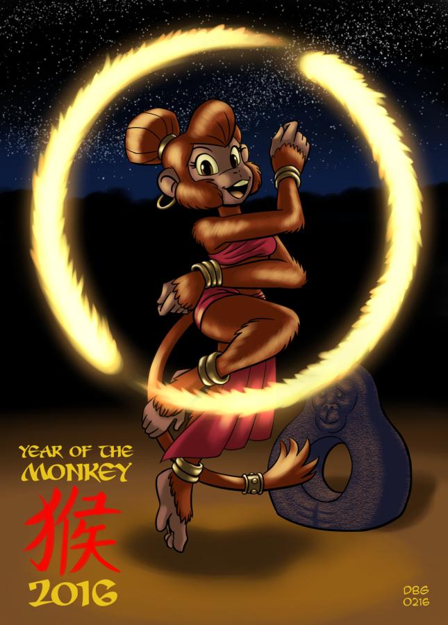 2016 Year of the Monkey by BahalaNa