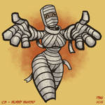 Drawlloween - 03 - Mummy Monday