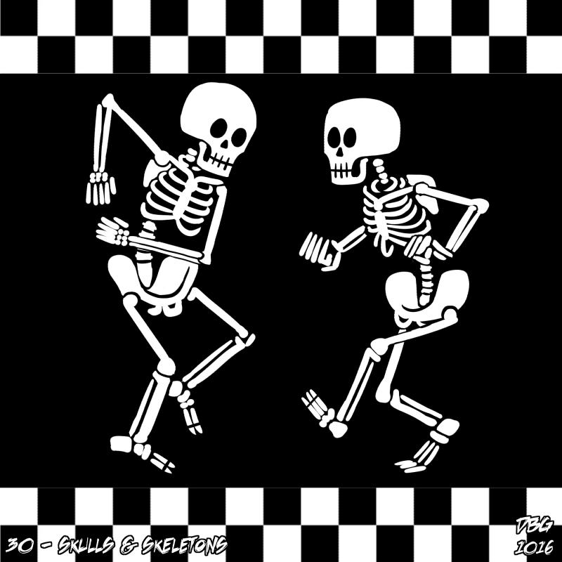 Drawlloween - 30 - Skulls and Skeletons by BahalaNa