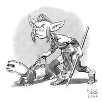 Goblin Week 01 - Aniduzn by BahalaNa