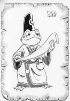 Frog Wizard by BahalaNa