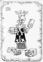 Giraffe Researcher by BahalaNa