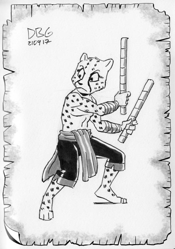 Cheetah Escrimador by BahalaNa