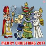 A Very DSMFTH Christmas by BahalaNa