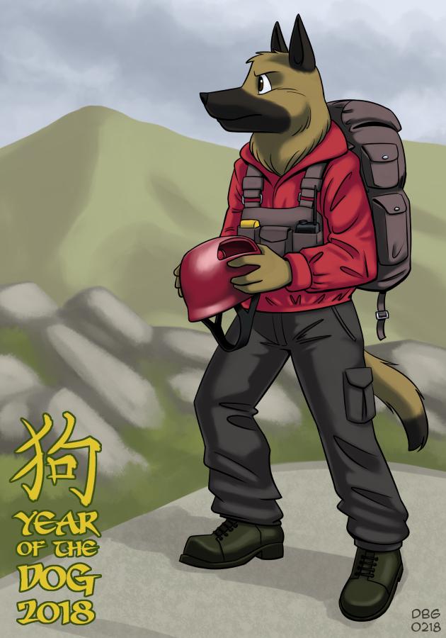 2018 Year of the Dog by BahalaNa