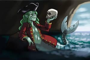 Pirate Mermaid by BahalaNa
