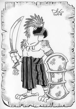 Philippine Eagle Tribal Warrior