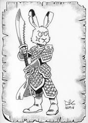 Hare Veteran by BahalaNa