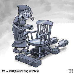 31 Witches - 19 - Carpenter Witch by BahalaNa
