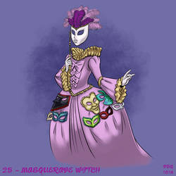 31 Witches - 25 - Masquerade Witch by BahalaNa