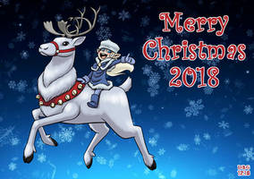 A Merry Christmas Reindeer and Elflet