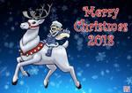 A Merry Christmas Reindeer and Elflet by BahalaNa
