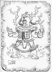 Polarbear Storm Herald Barbarian