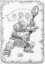 Walrus Battle Master Fighter