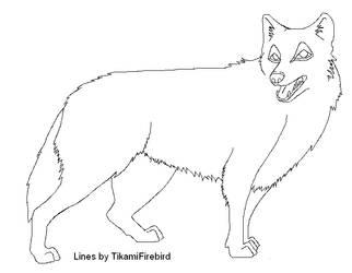 MOAR MS Paint Wolf Lines