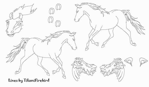 MS Paint Friendly Horse Ref