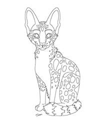 Serval or Wildcat Lines MS Paint