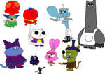 Chowder and friends