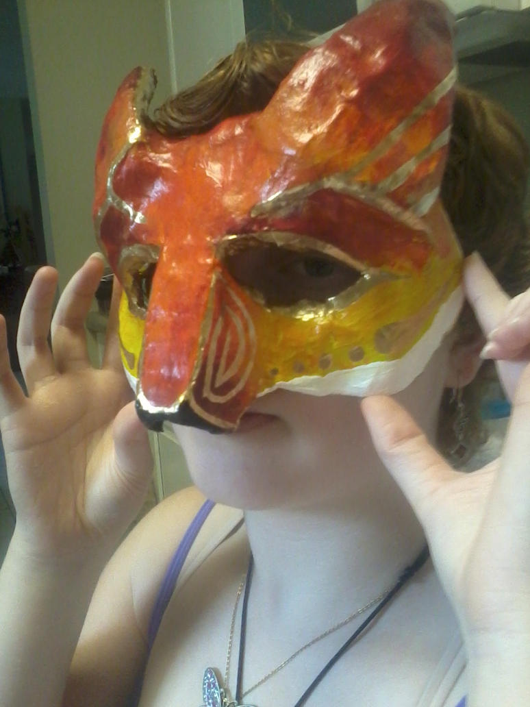 fox mask by Bl0ndage
