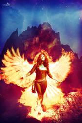 Dark Phoenix Ascension by moxymtg