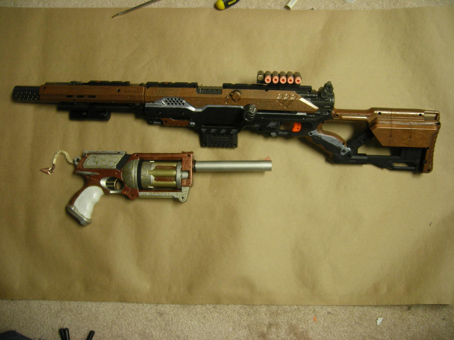 CosmeticsFirst painted Nerf gun ...