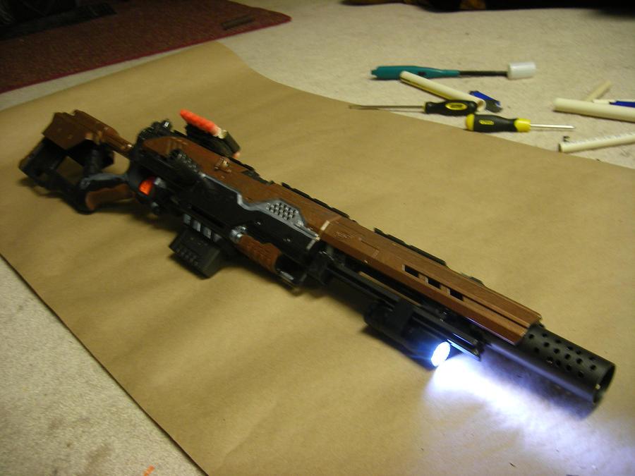 ... Nerf-Alpha-Trooper-Cosmetic-Mod-Kit-BLACK-Version