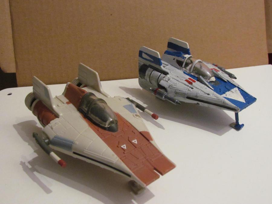 spudafett's custom action fleet, Wiring schematic