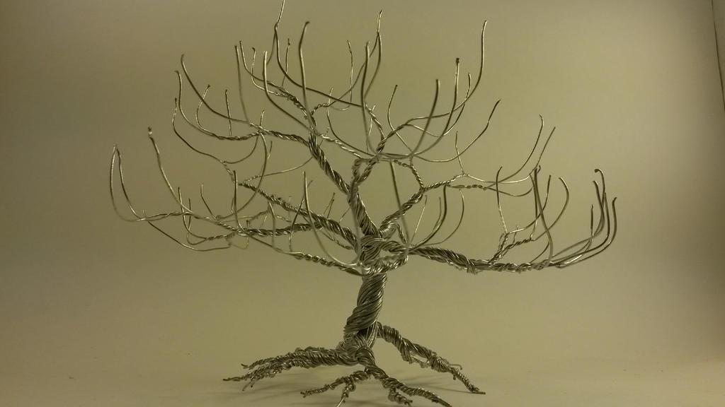 silver tree by SpudaFett