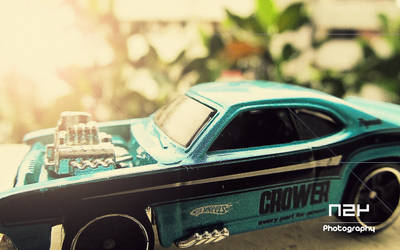 Hot Wheels: Plymouth Duster by n24-second