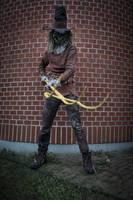 BTAS Scarecrow. Pitchfork by SebvirartZ